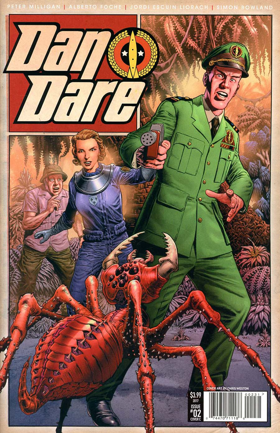 Dan Dare Vol 2 #2 Cover C Variant Chris Weston Cover