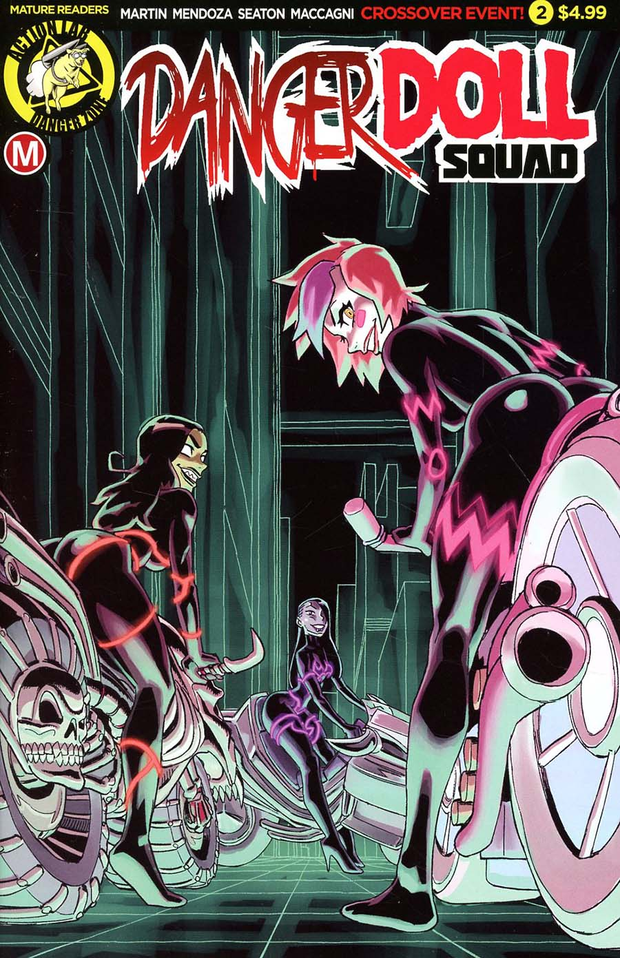 Danger Doll Squad #2 Cover A Regular Winston Young Cover