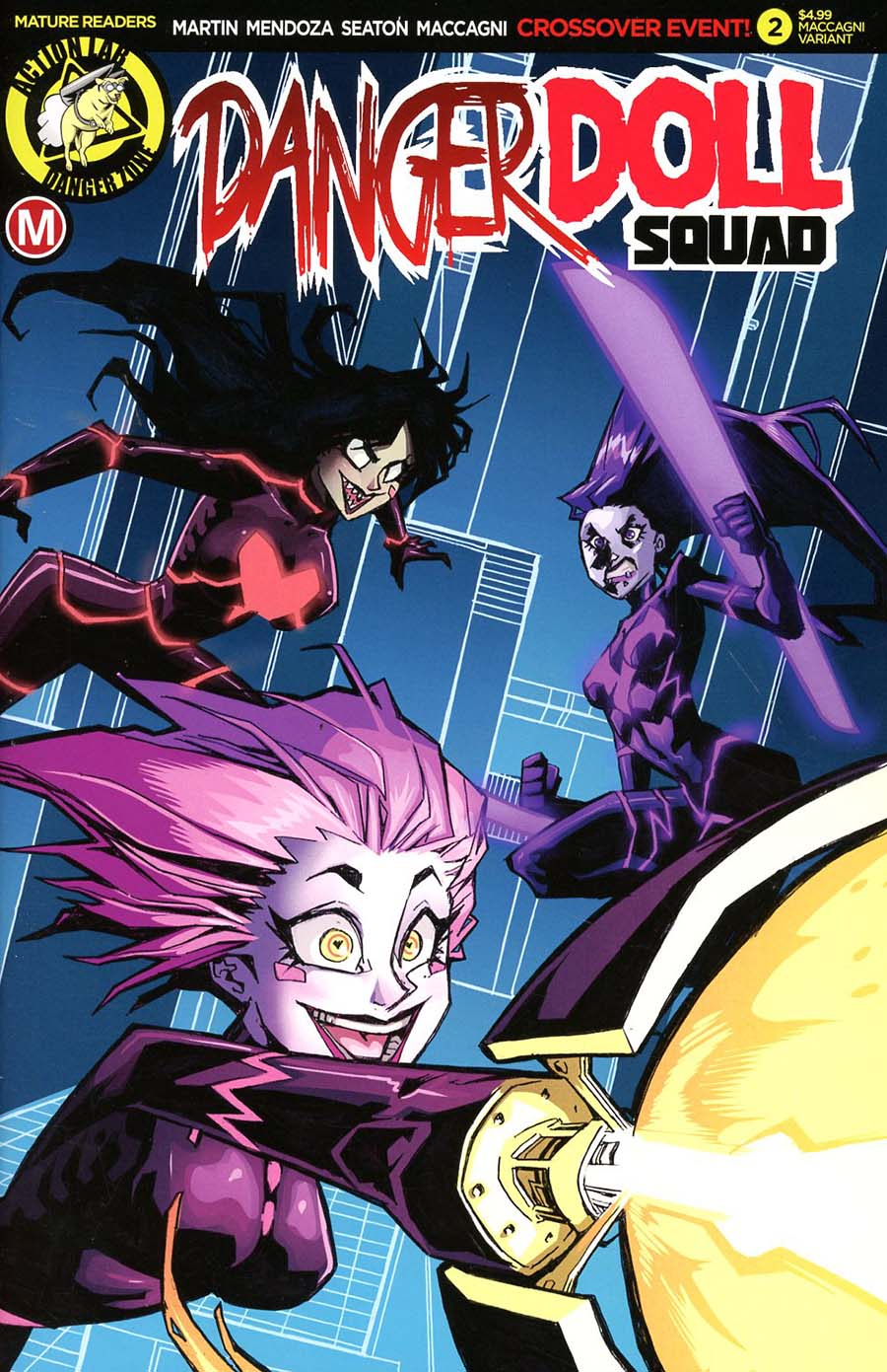 Danger Doll Squad #2 Cover E Variant Marco Maccagni Cover