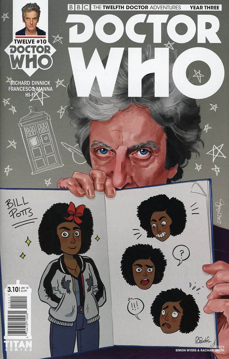 Doctor Who 12th Doctor Year Three #10 Cover A Regular Simon Myers & Rachael Smith Cover