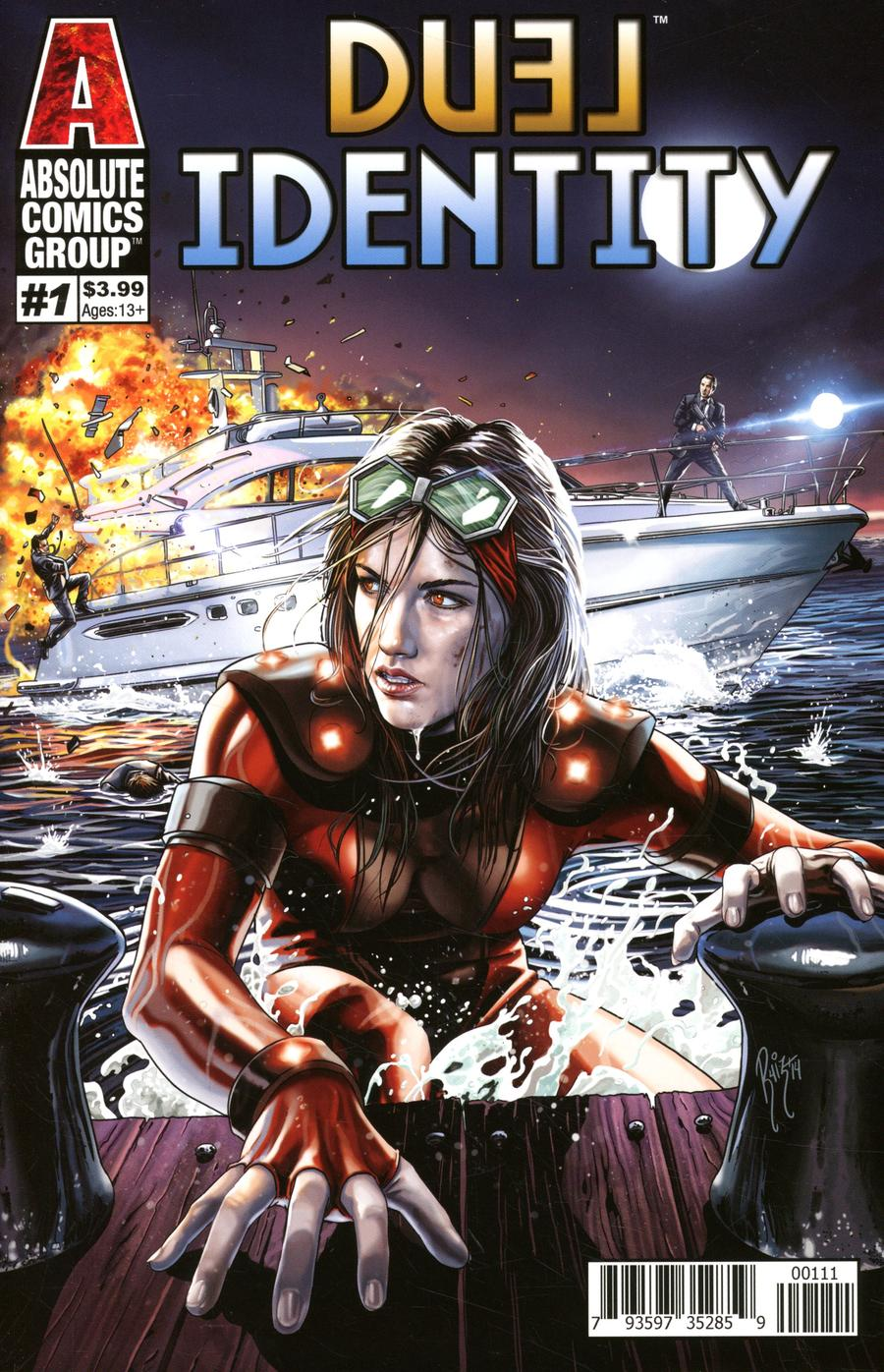 Duel Identity #1 Cover A Regular Jonathan Lam Cover