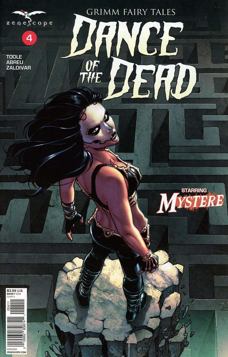 Grimm Fairy Tales Presents Dance Of The Dead #4 Cover A Sean Chen