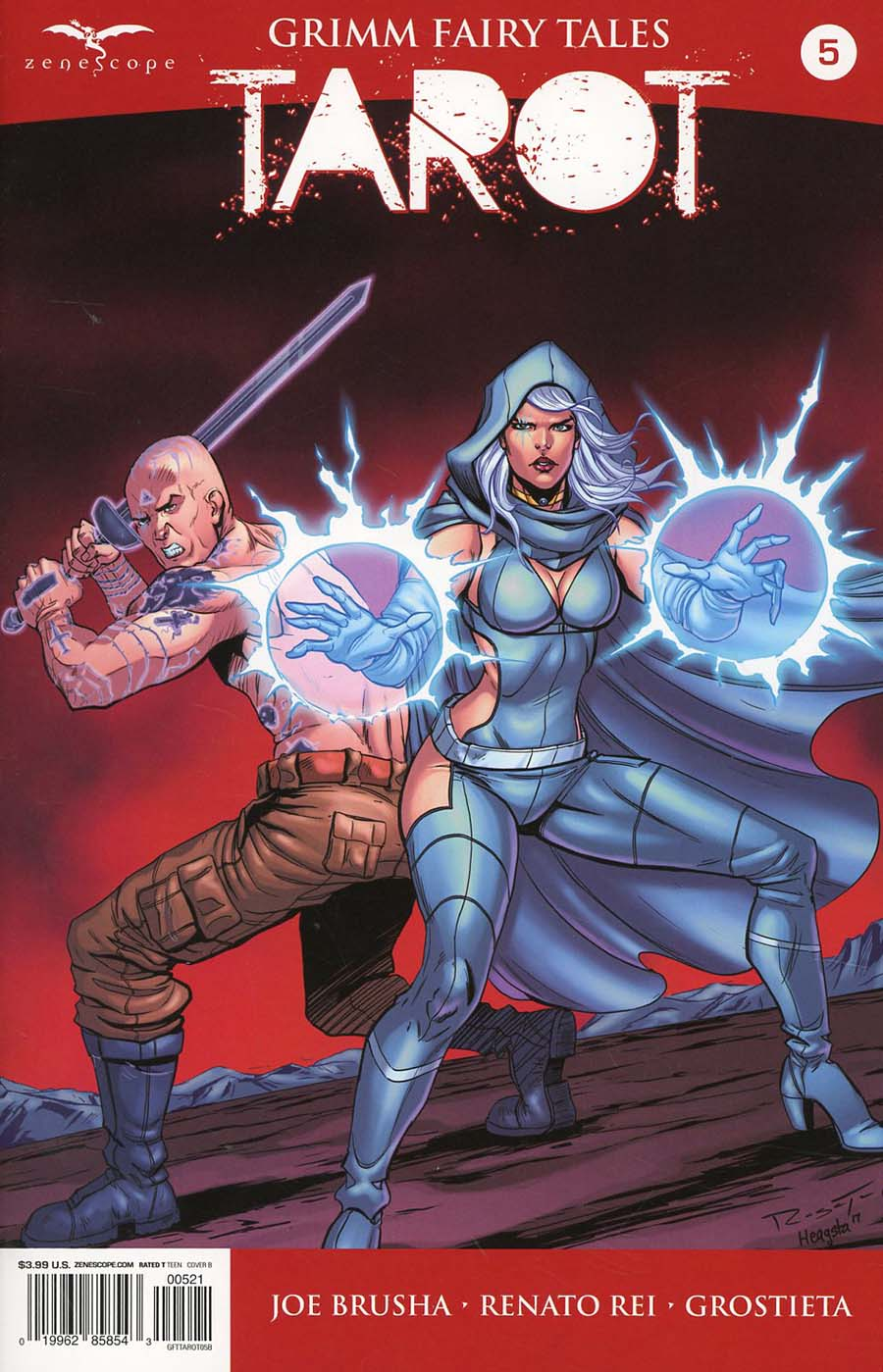 Grimm Fairy Tales Presents Tarot #5 Cover B Marc Rosete