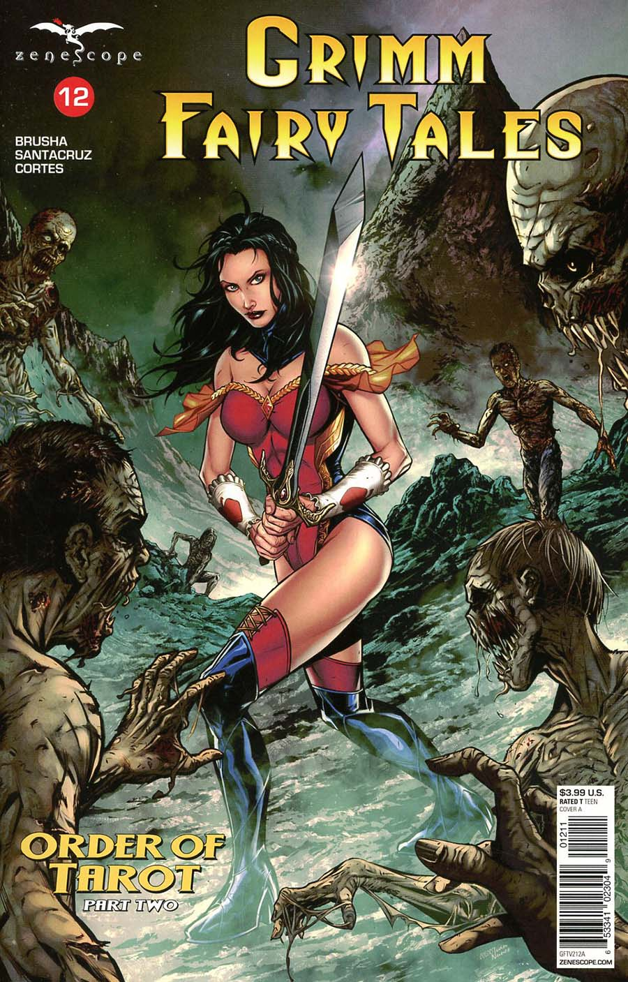 Grimm Fairy Tales Vol 2 #12 Cover A Riveiro