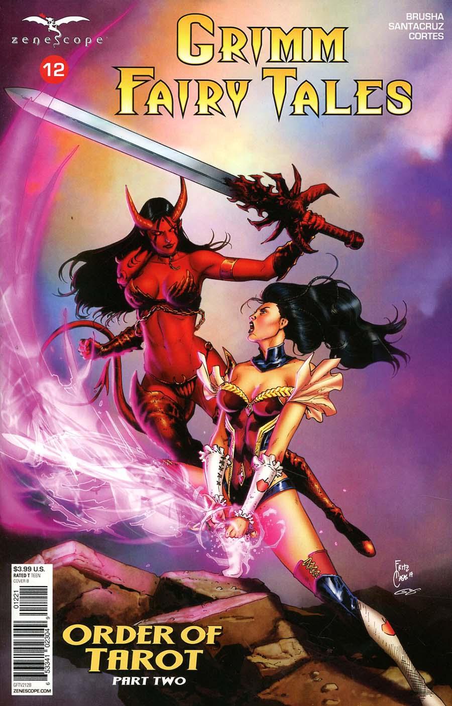 Grimm Fairy Tales Vol 2 #12 Cover B Fritz Casas