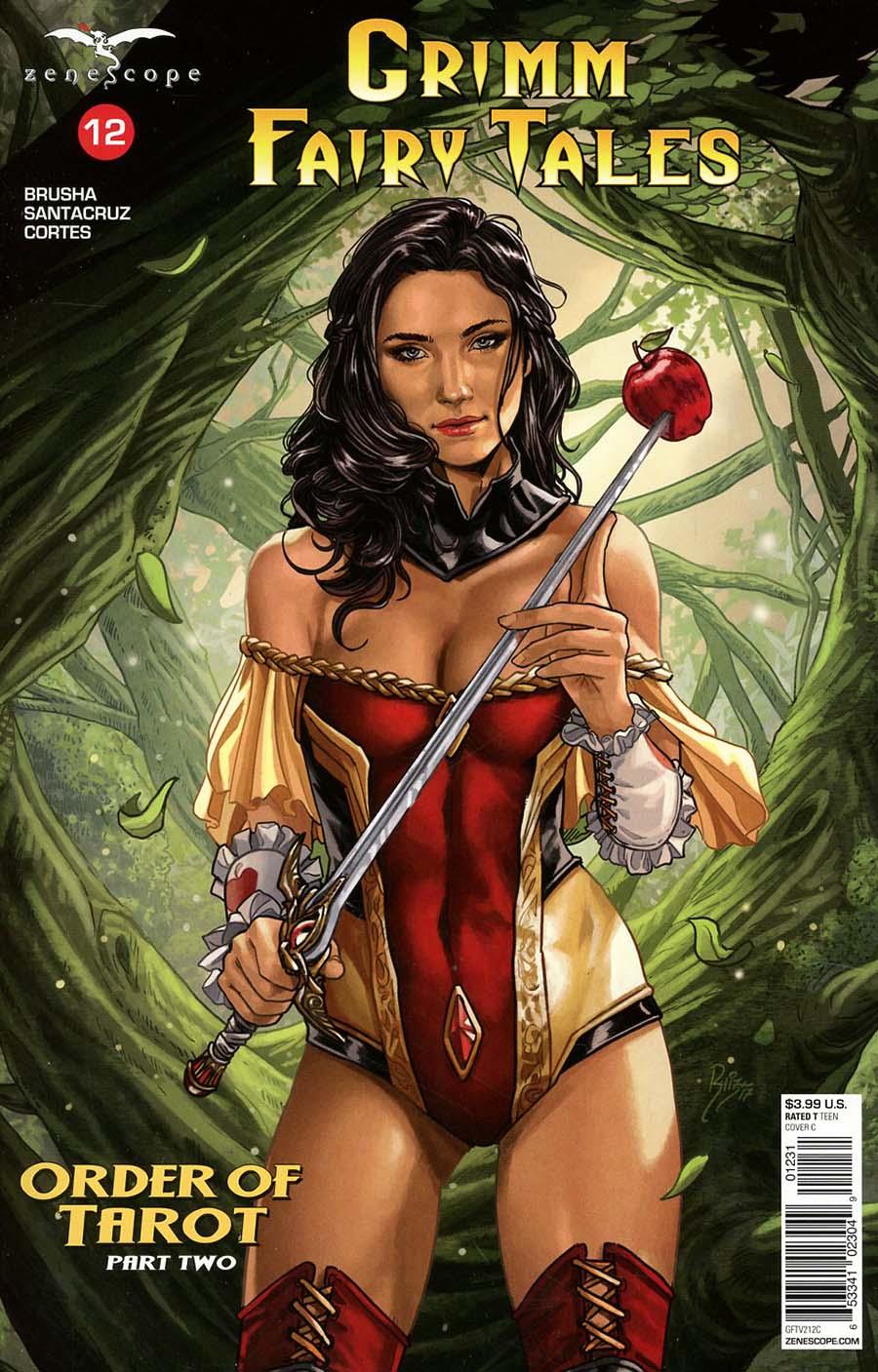 Grimm Fairy Tales Vol 2 #12 Cover C Juan Carlos Ruiz