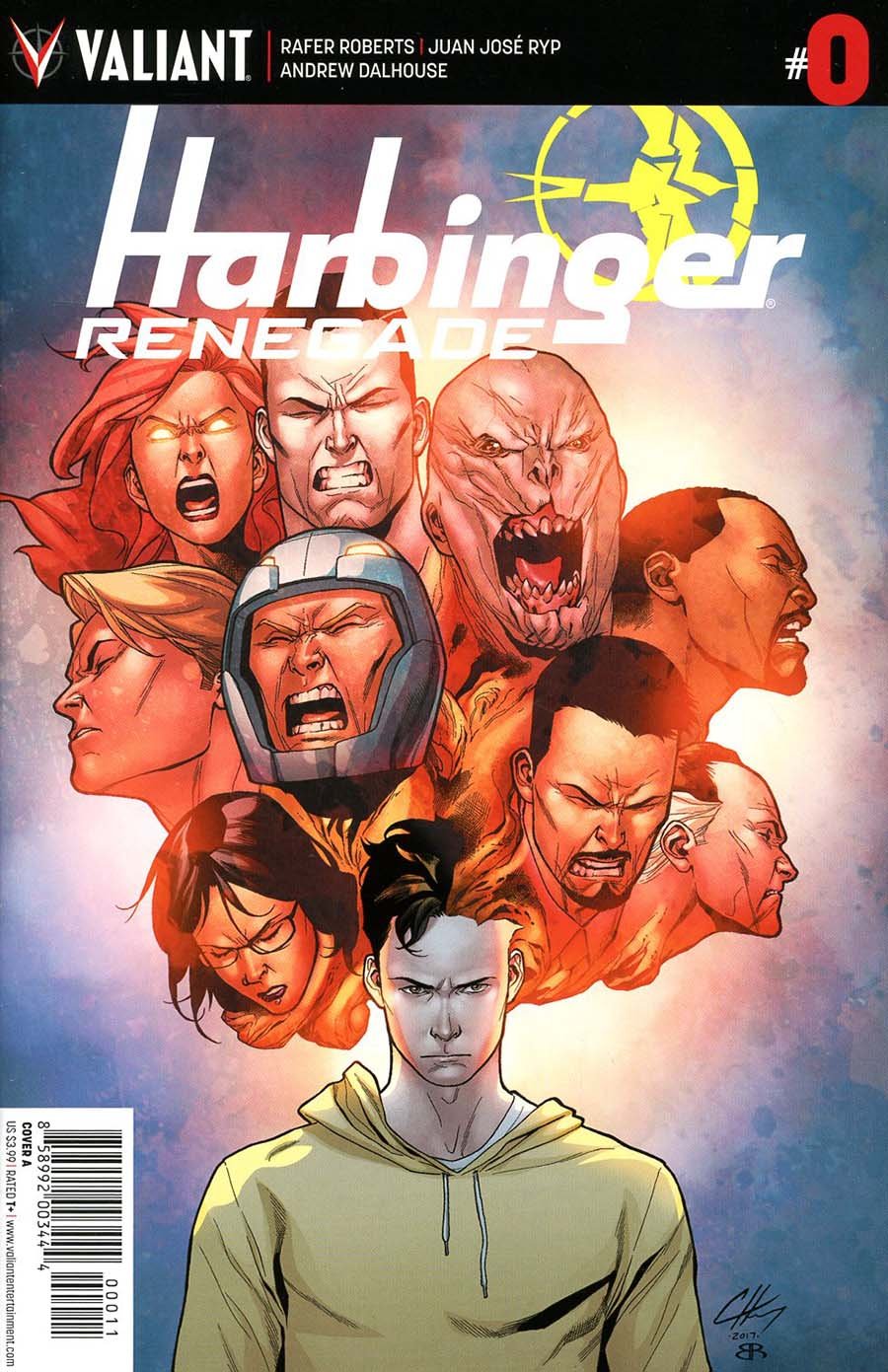 Harbinger Renegade #0 Cover A Regular Clayton Henry Cover