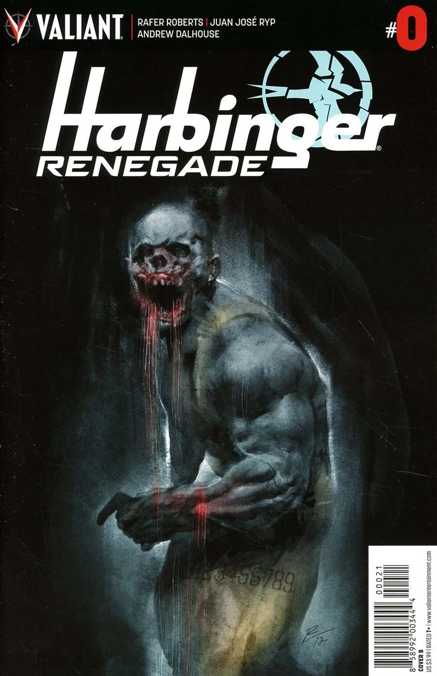 Harbinger Renegade #0 Cover B Variant Roberto De La Torre Cover