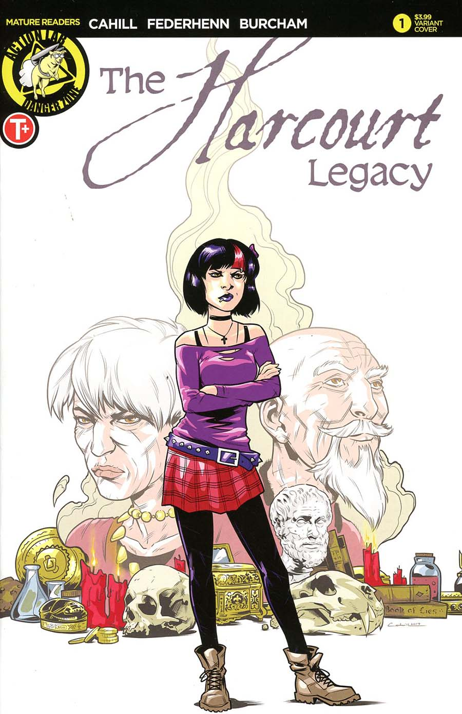 Harcourt Legacy #1 Cover B Variant Brendan Cahill Cover