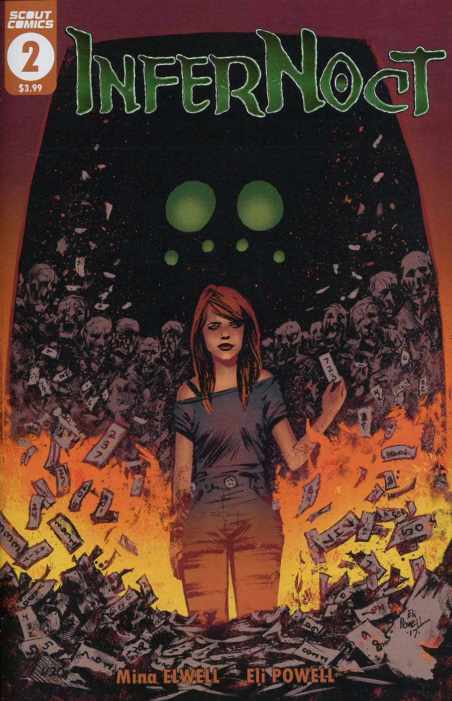 Infernoct #2 Cover A Regular Eli Powell Cover
