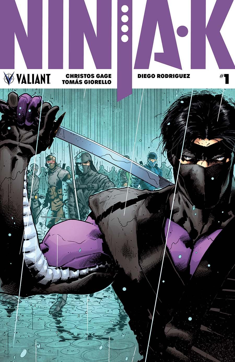 Ninja-K #1 Cover A 1st Ptg Regular Trevor Hairsine Cover
