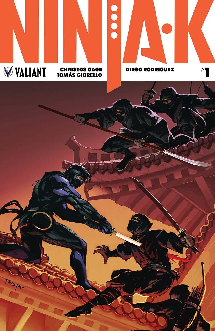 Ninja-K #1 Cover B Variant Lucas Troya Cover
