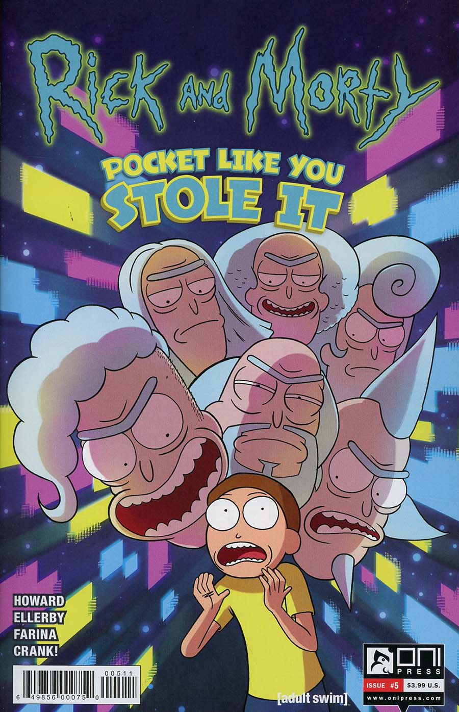 Rick And Morty Pocket Like You Stole It #5 Cover A Regular Marc Ellerby & Katy Farina Cover