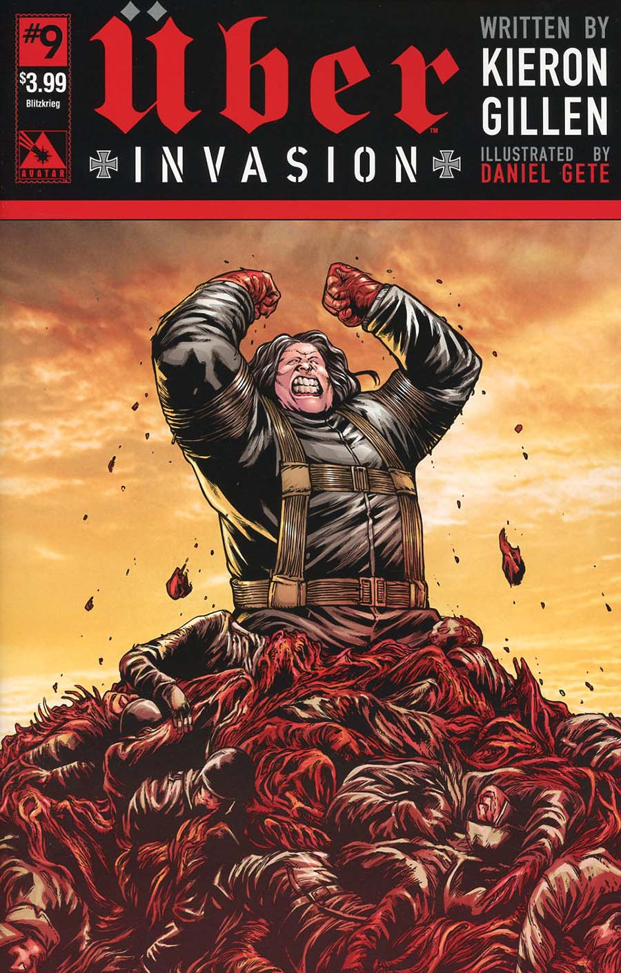 Uber Invasion #9 Cover C Blitzkrieg Cover
