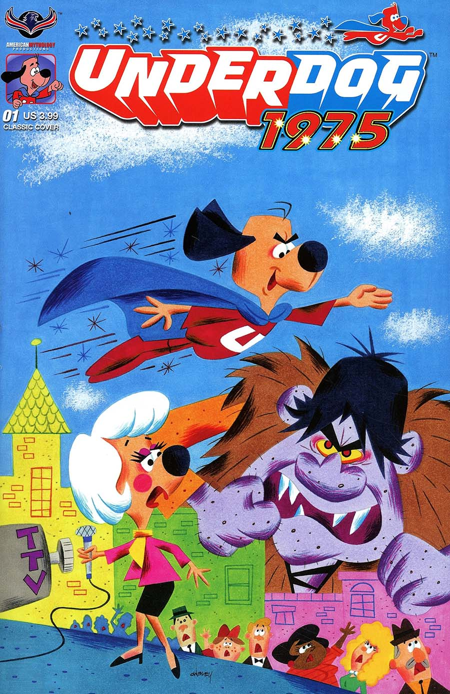 Underdog 1975 Cover C Variant Patrick Owsley Classic Cover