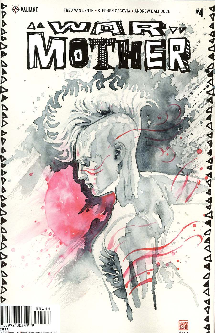 War Mother #4 Cover A Regular David Mack Cover