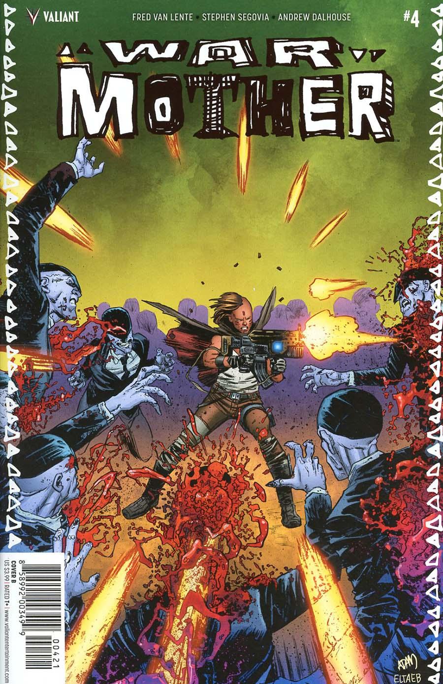 War Mother #4 Cover B Variant Adam Gorham Cover