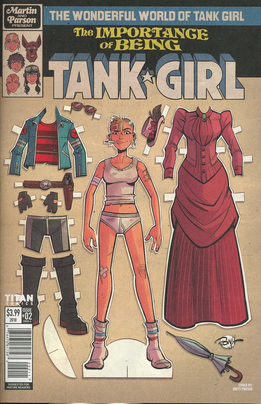 Wonderful World Of Tank Girl #2 Cover A Regular Brett Parson Cover
