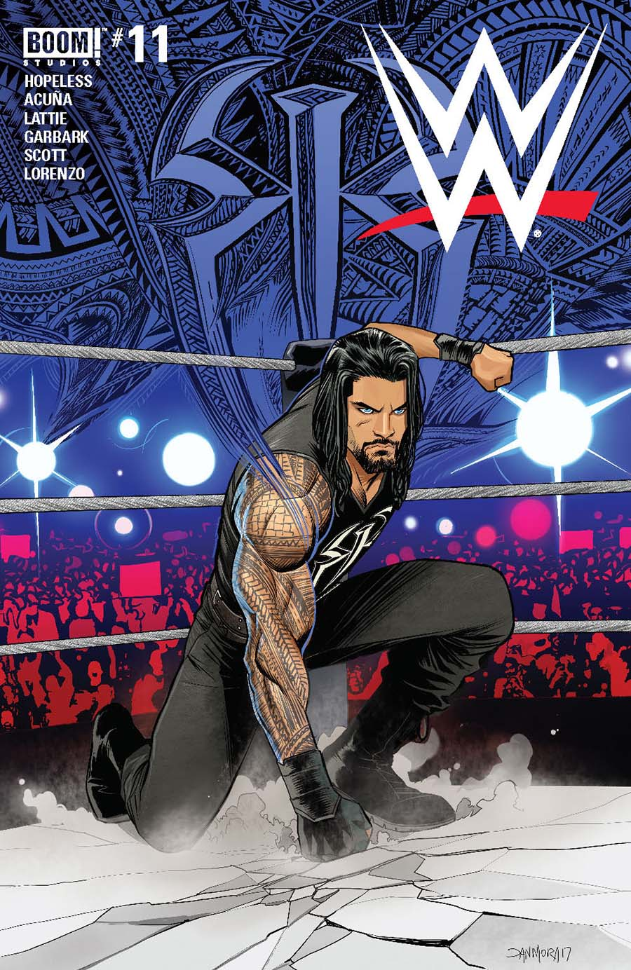 WWE #11 Cover A Regular Dan Mora Cover