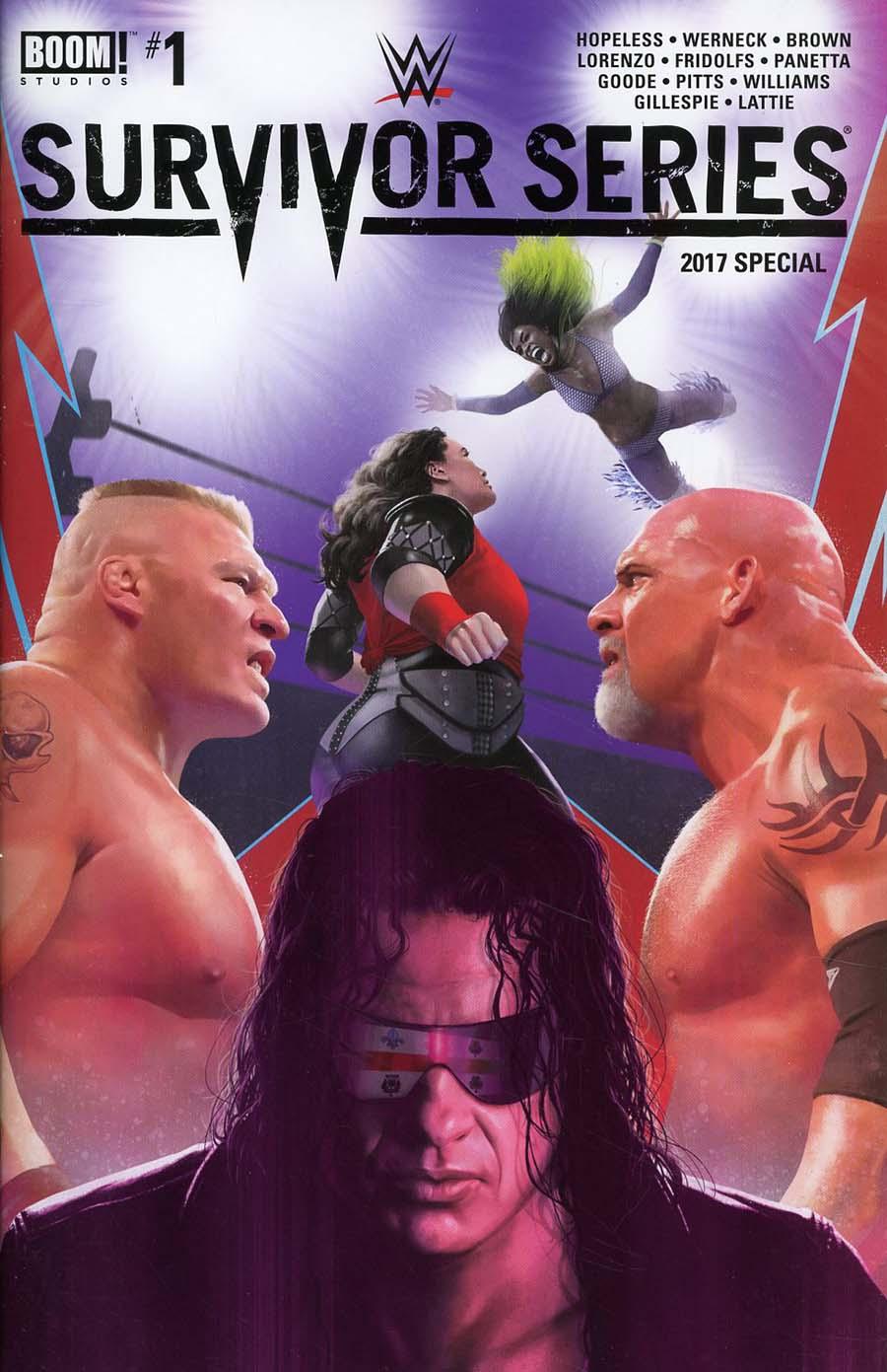 WWE Survivor Series 2017 Special #1 Cover A Regular Rahzzah Cover
