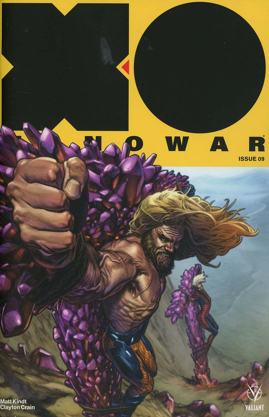 X-O Manowar Vol 4 #9 Cover A Regular Lewis Larosa Cover