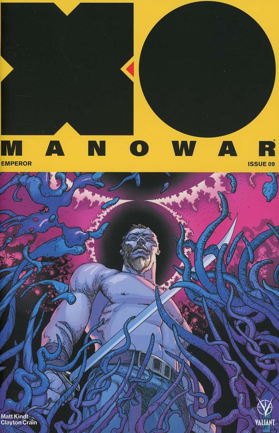 X-O Manowar Vol 4 #9 Cover B Variant Adam Pollina Cover
