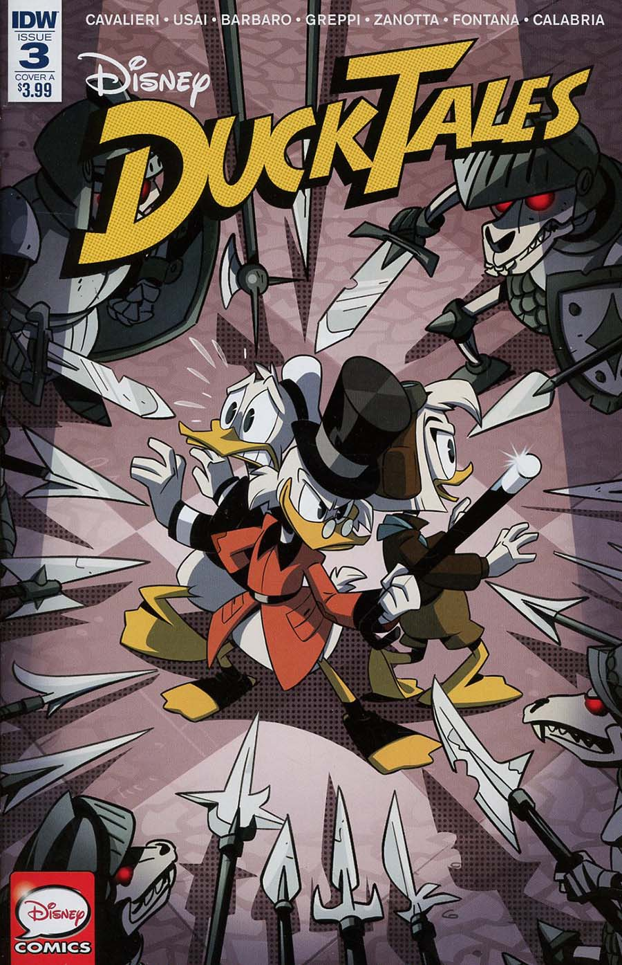 Ducktales Vol 4 #3 Cover A Regular Marco Ghiglione Cover