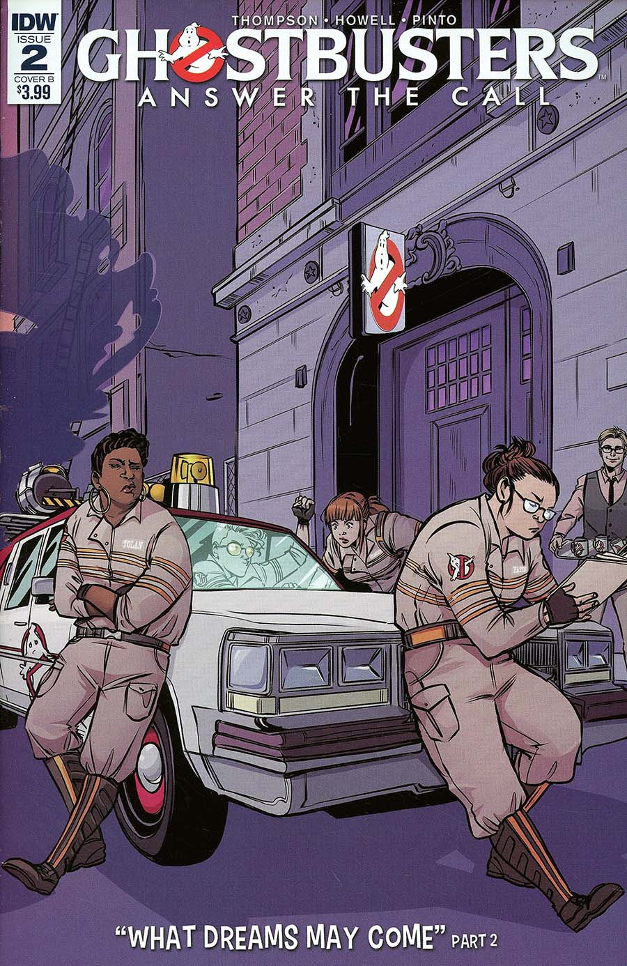 Ghostbusters Answer The Call #2 Cover B Variant Emma Vieceli Cover