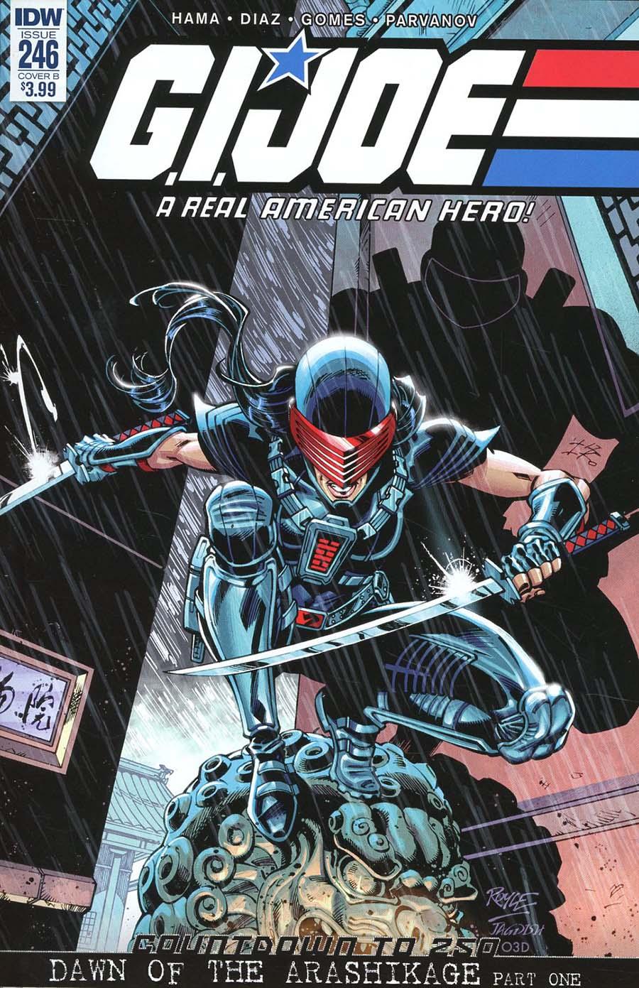 GI Joe A Real American Hero #246 Cover B Variant John Royle Cover