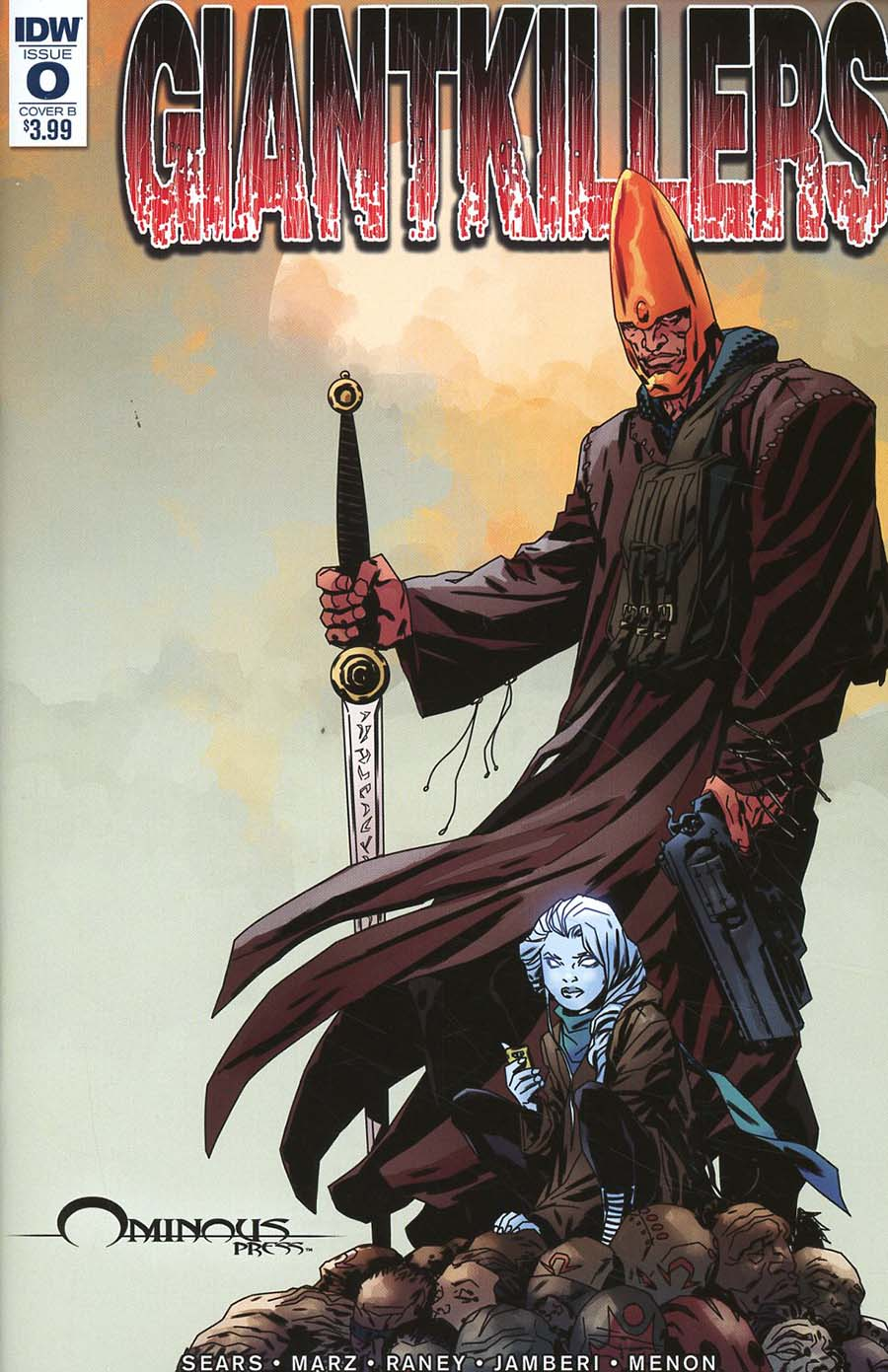Giantkillers #0 Cover B Variant Bart Sears & Matthew Dow Smith Cover