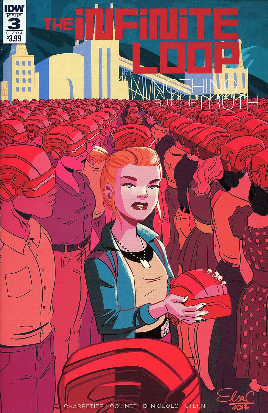 Infinite Loop Nothing But The Truth #3 Cover A Regular Elsa Charretier Cover