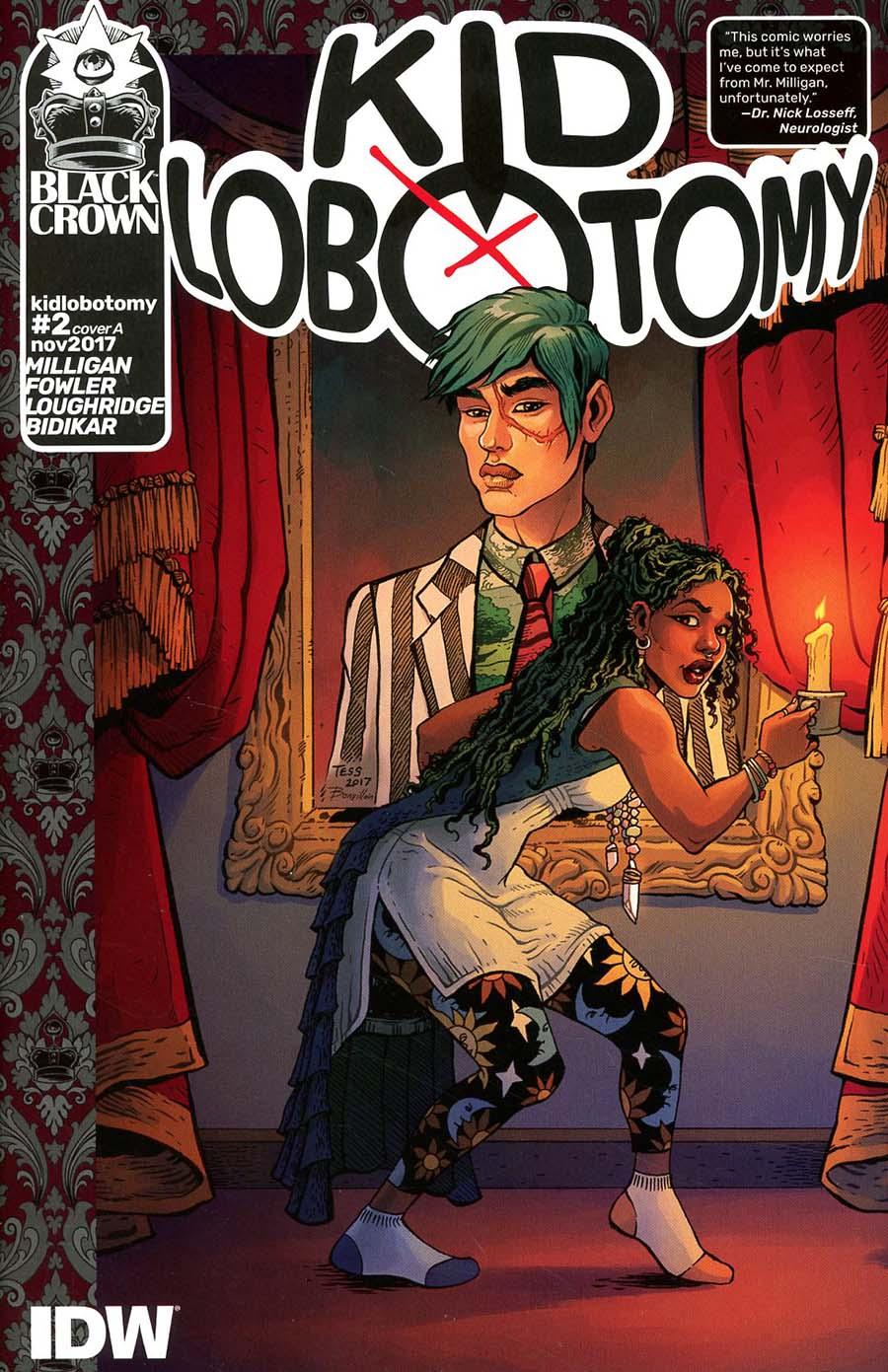 Kid Lobotomy #2 Cover A Regular Tess Fowler & Tamra Bonvillain Cover