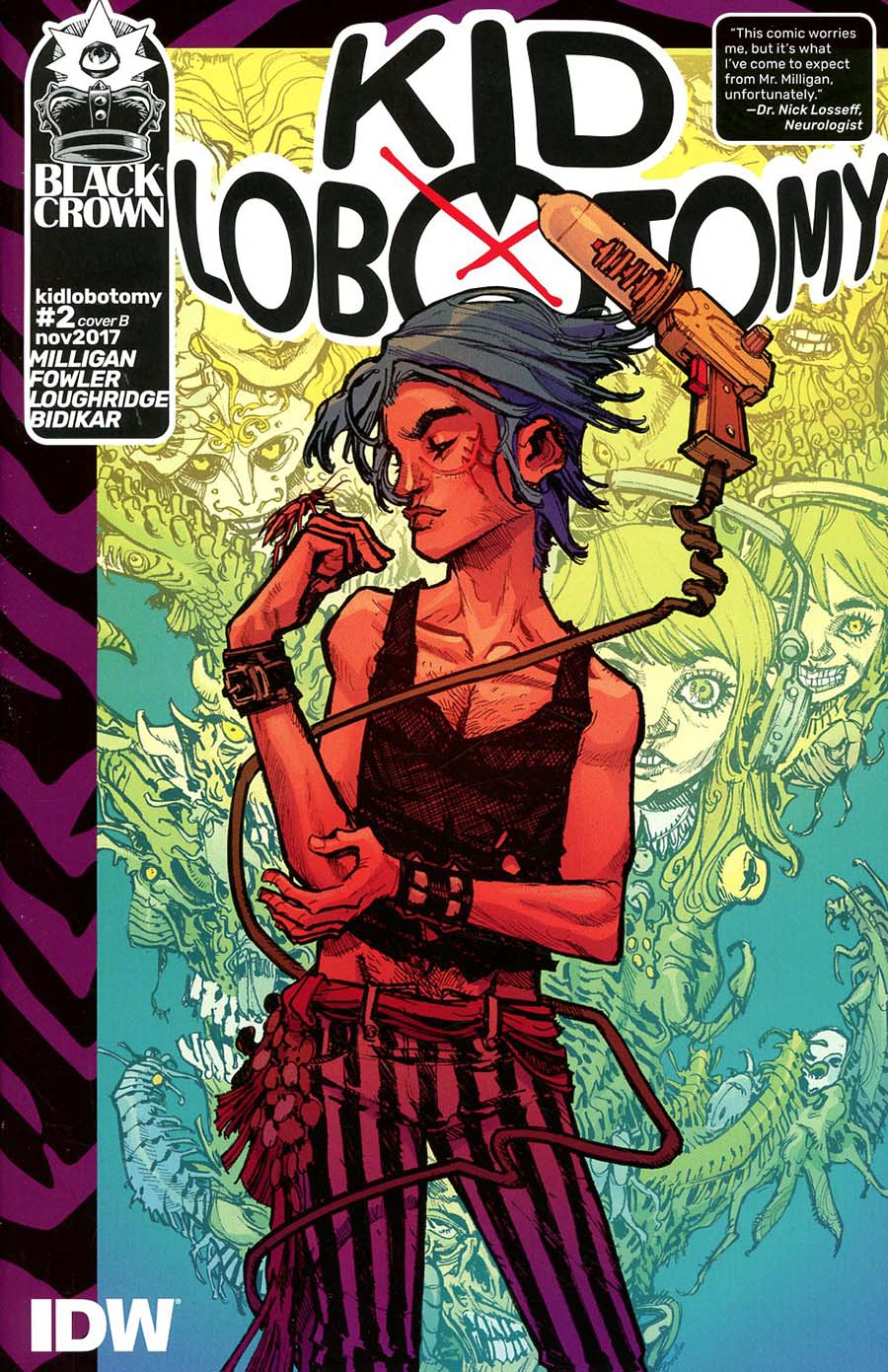 Kid Lobotomy #2 Cover B Variant Eric Canete Cover