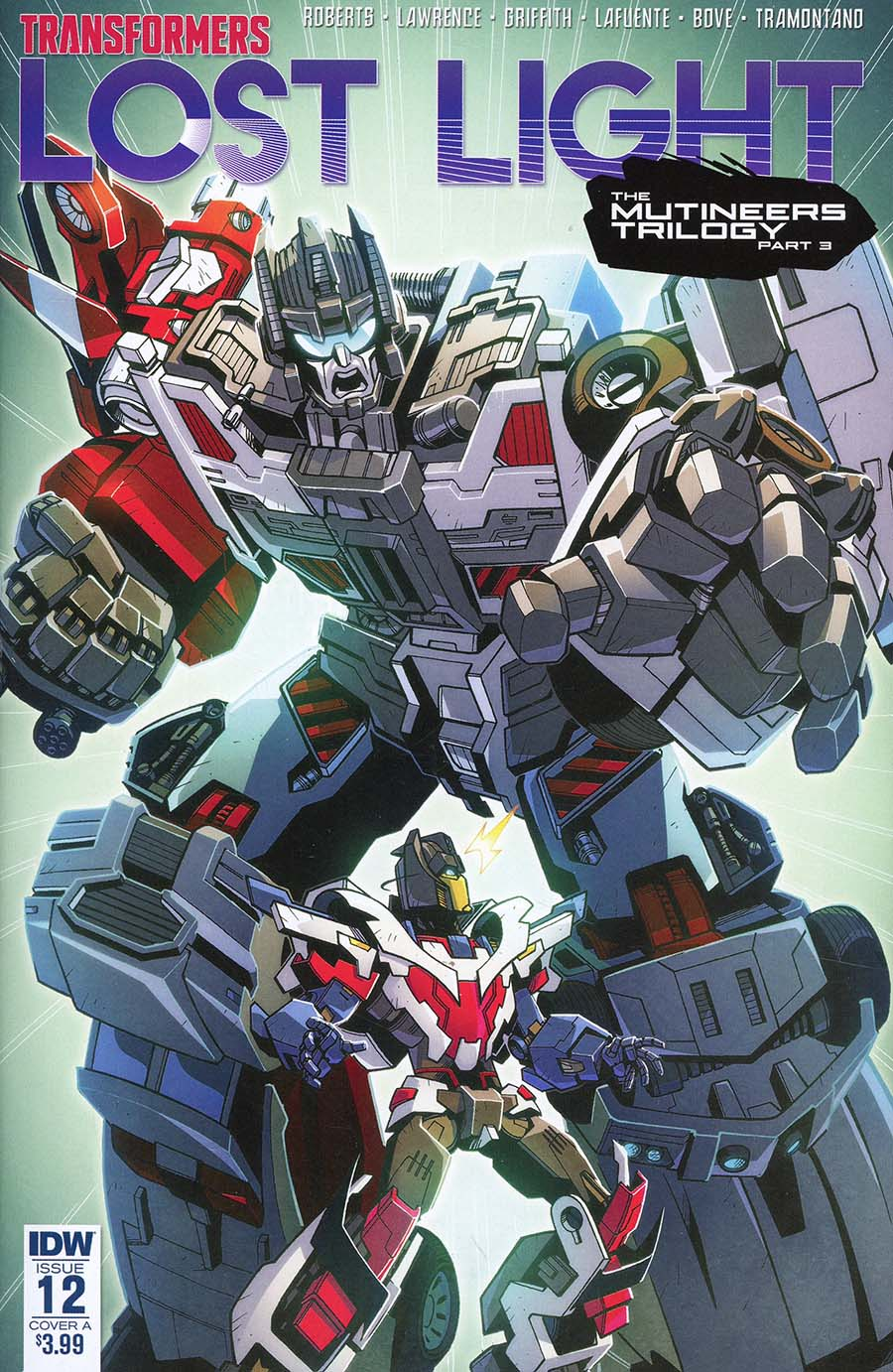 Transformers Lost Light #12 Cover A Regular Jack Lawrence Cover