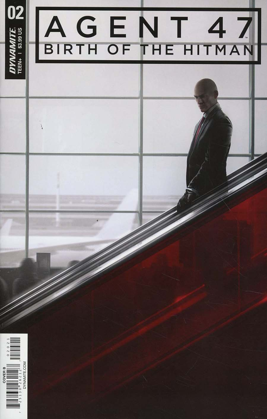 Agent 47 Birth Of The Hitman 2 Cover B Variant Gameplay Cover