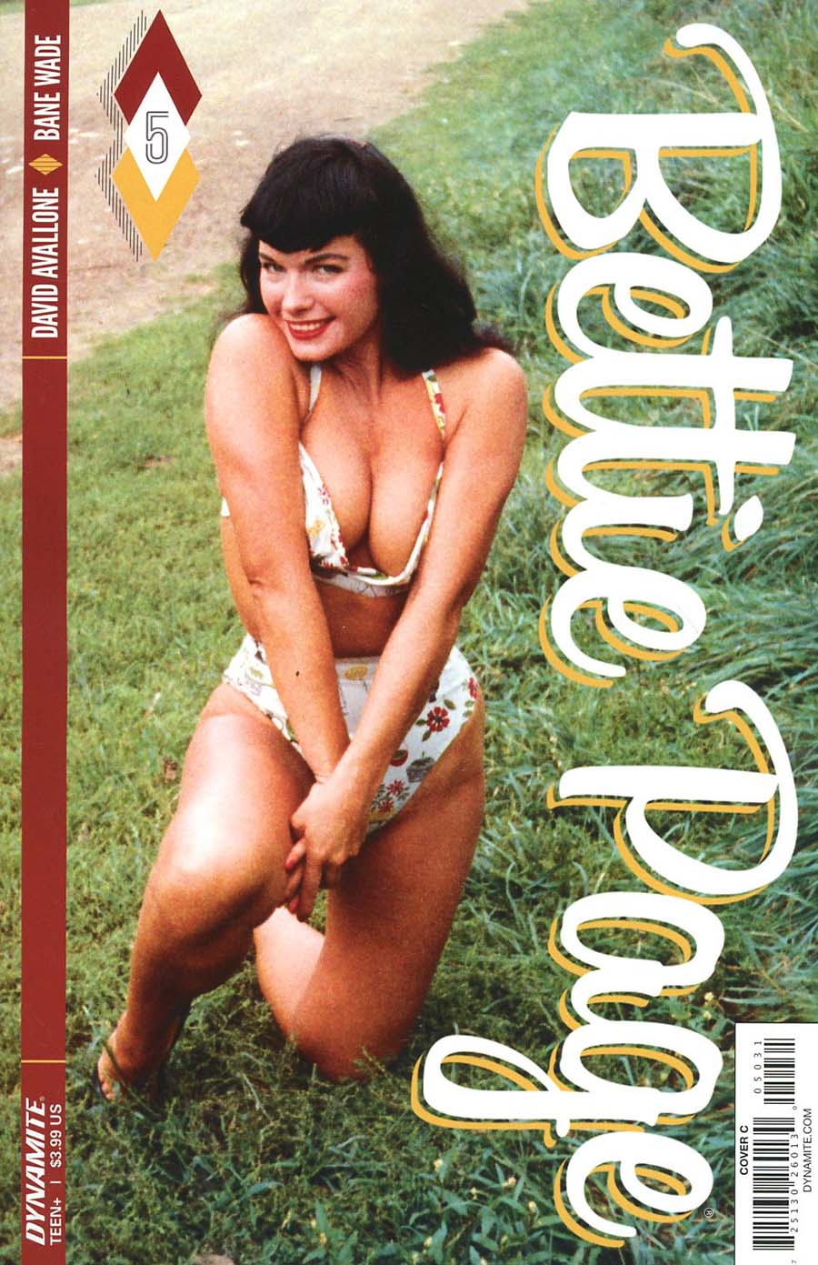 Bettie Page #5 Cover C Variant Photo Cover