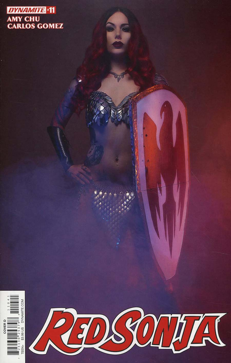 Red Sonja Vol 7 #11 Cover D Variant Cosplay Photo Cover