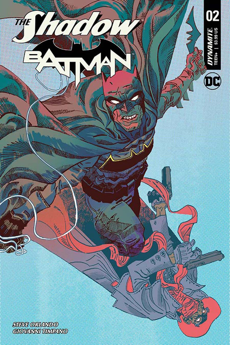 Shadow Batman #2 Cover C Variant Artyom Trakhanov Cover