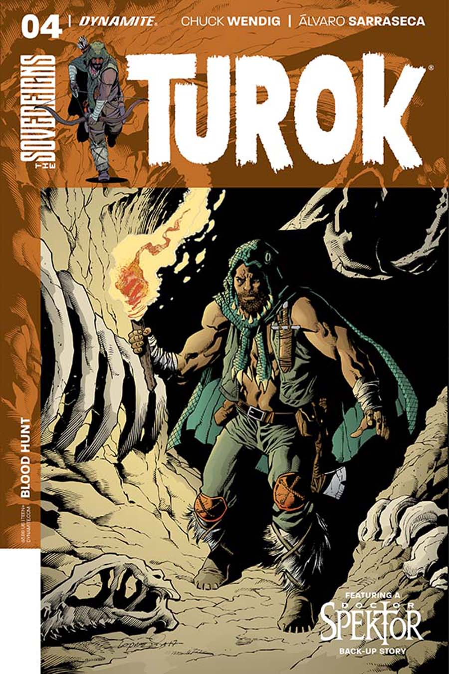 Turok Vol 2 #4 Cover A Regular Aaron Lopresti Cover