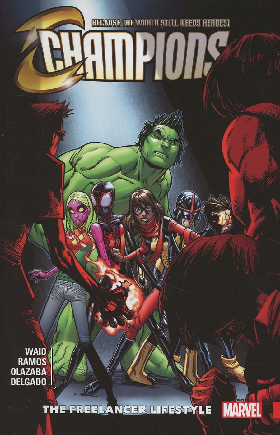 Champions (2016) Vol 2 Freelancer Lifestyle TP