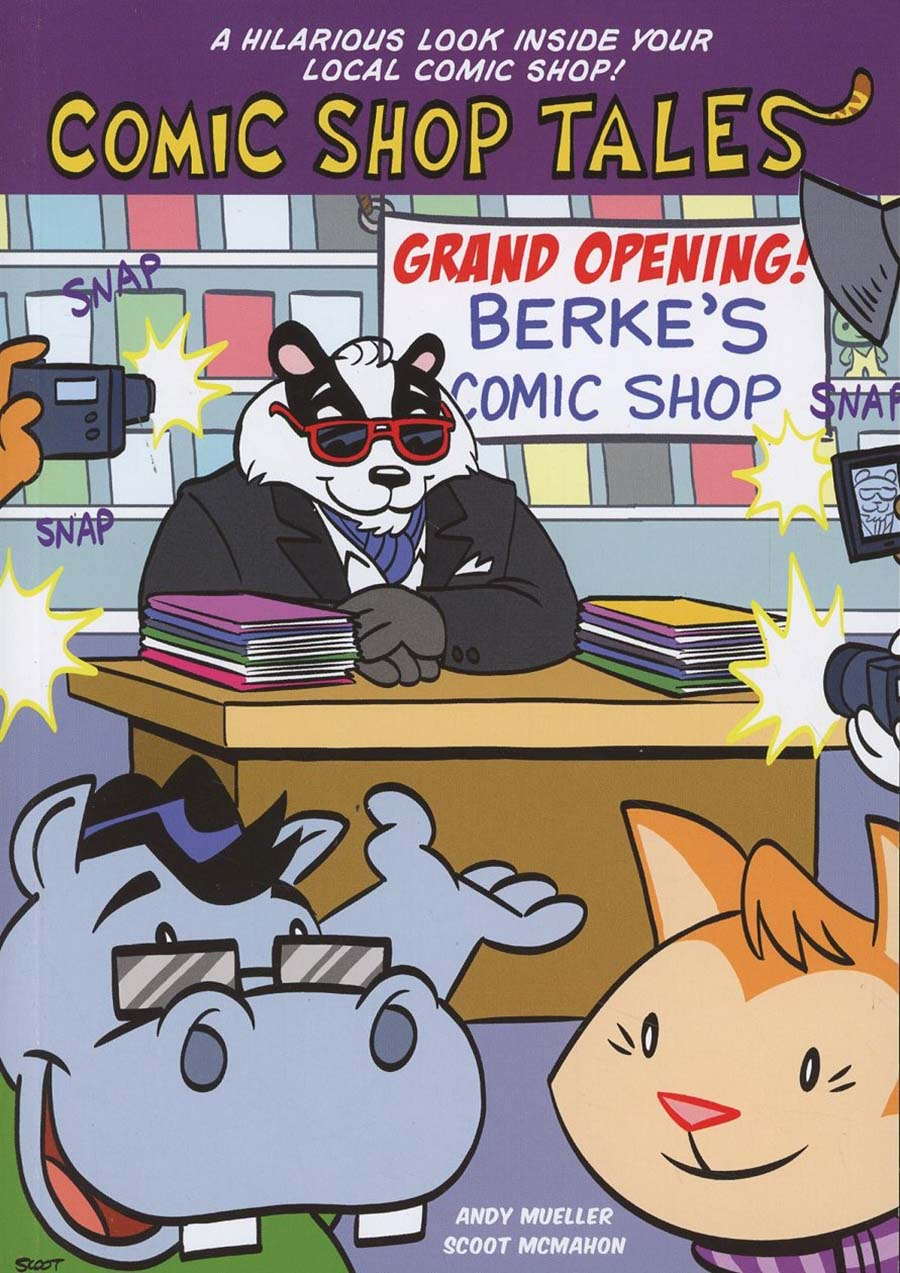 Comic Shop Tales Book 1 Grand Opening TP