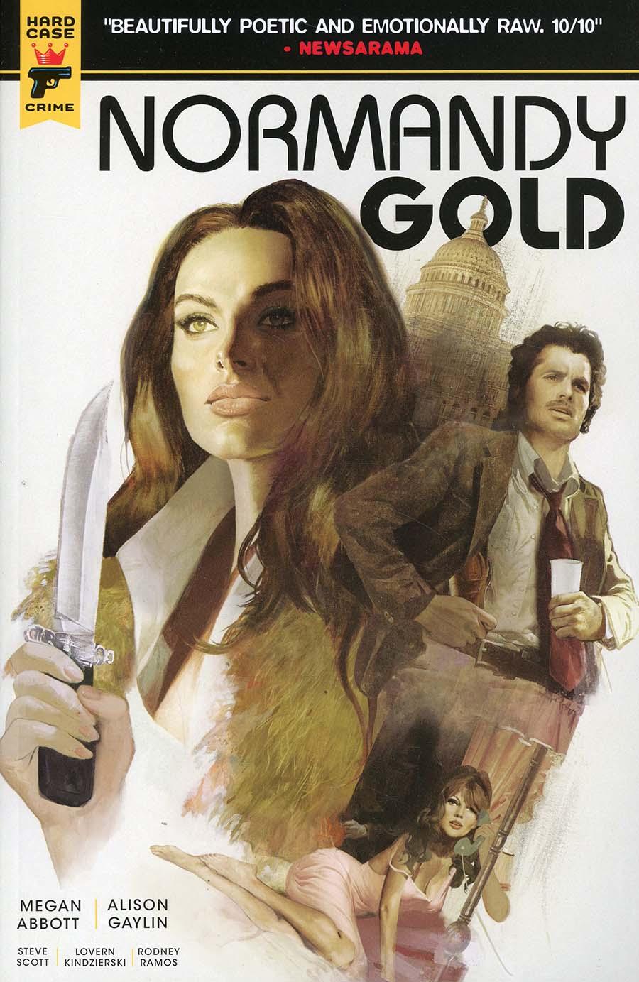 Hard Case Crime Normandy Gold TP