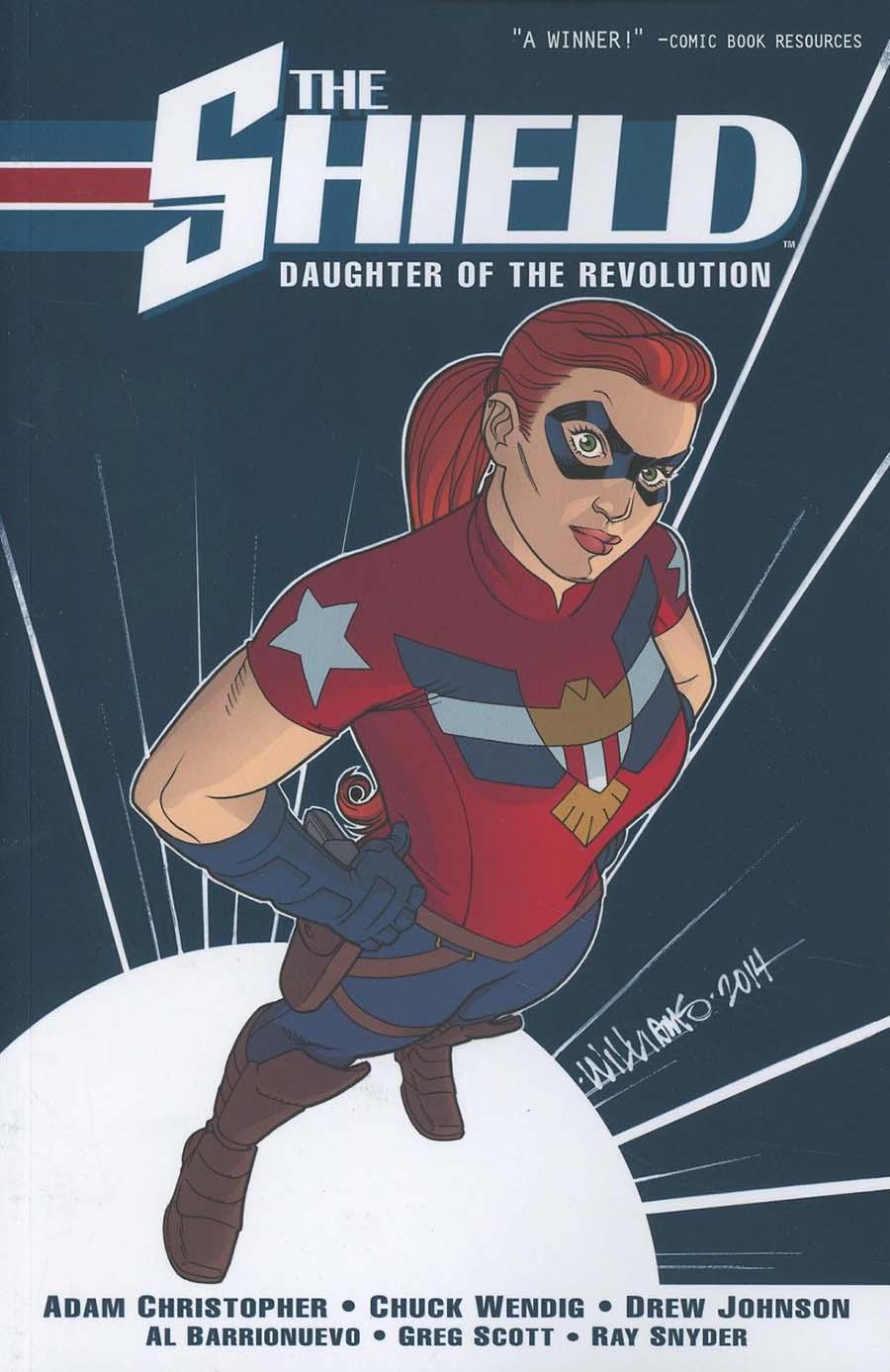 Shield (Dark Circle) Vol 1 Daughter Of The Revolution TP