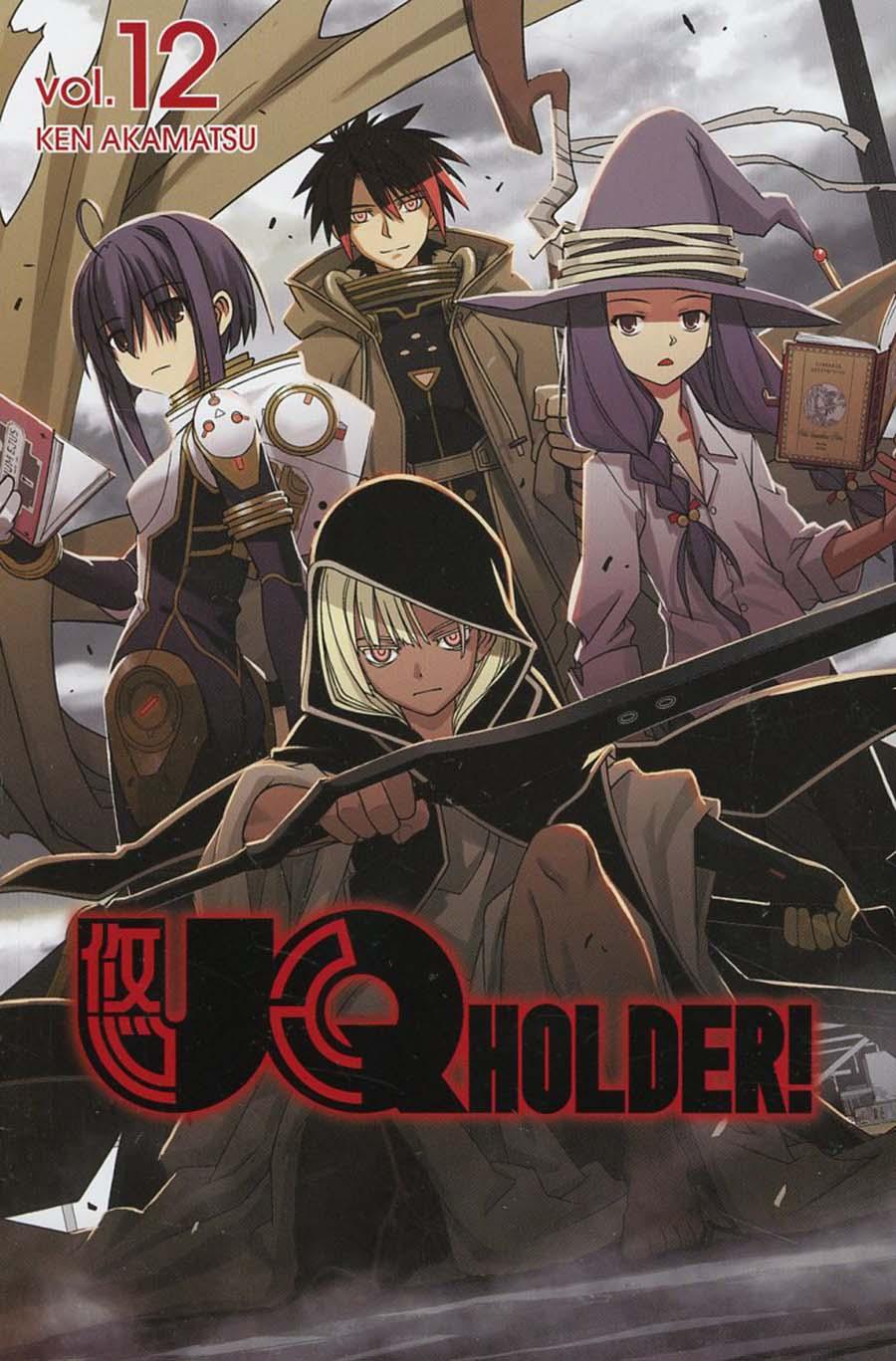 UQ Holder Vol 12 GN