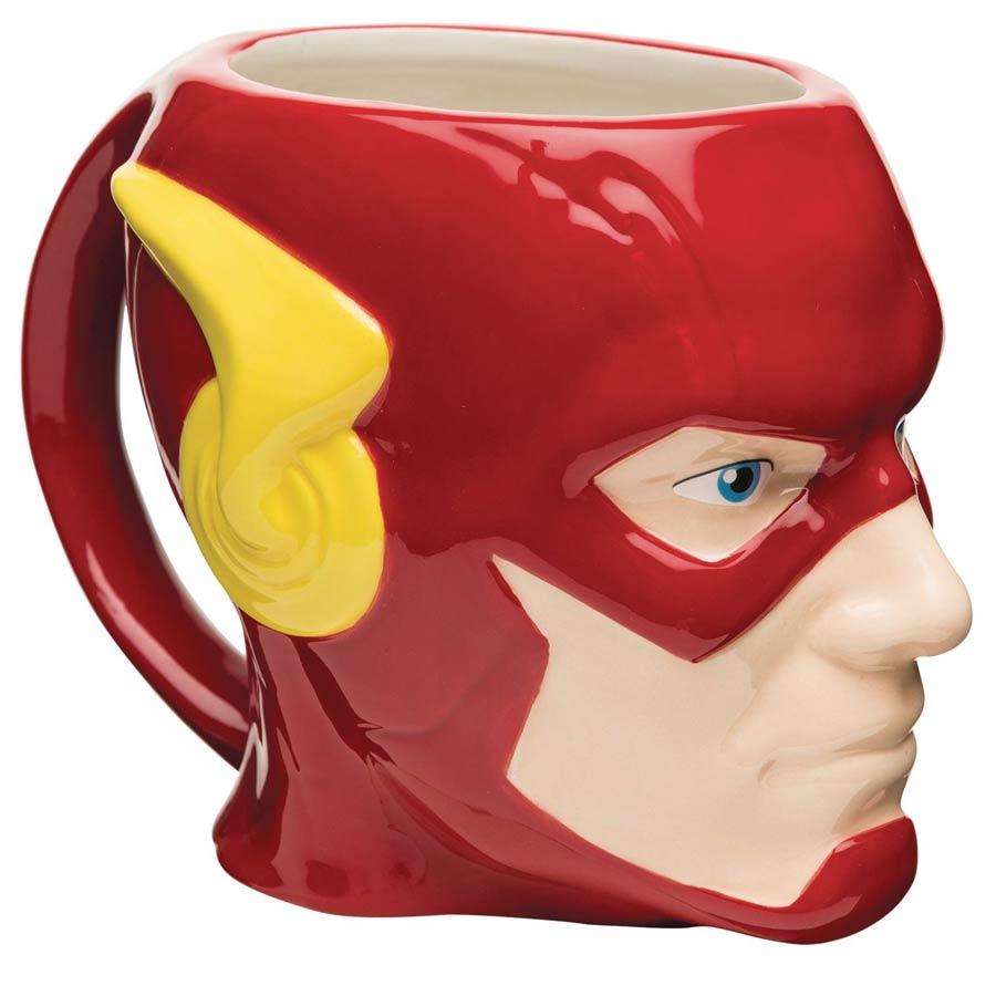 DC Heroes Ceramic Sculpted Mug - Flash