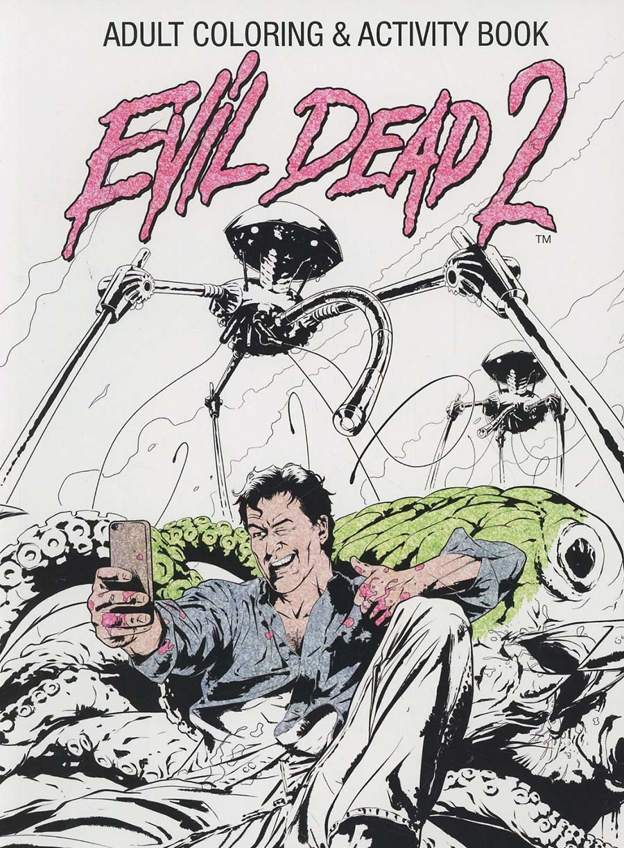 Evil Dead 2 Adult Coloring And Activity Book