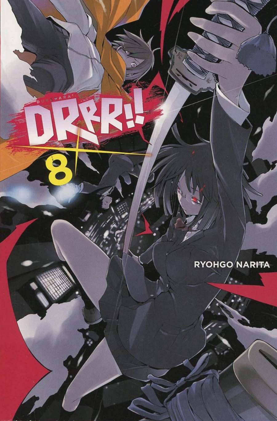 Durarara Light Novel Vol 8