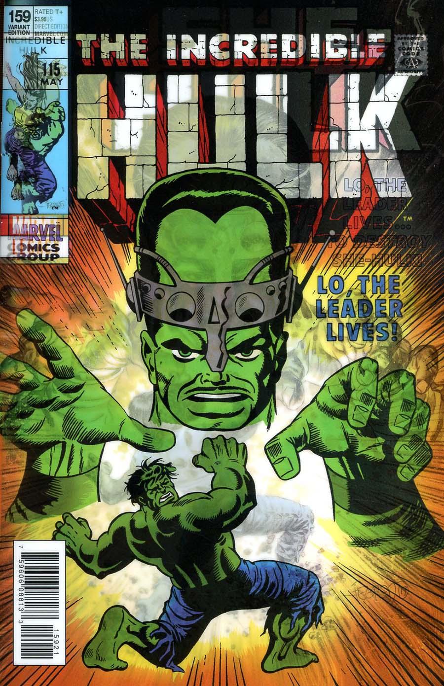 She-Hulk Vol 3 #159 Cover B Variant Duncan Fegredo Lenticular Homage Cover (Marvel Legacy Tie-In)