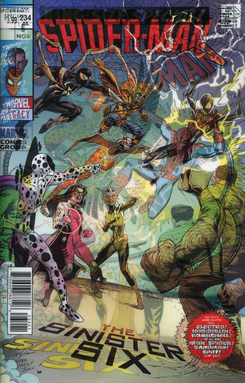 Spider-Man Vol 2 #234 Cover B Variant Mark Bagley Lenticular Homage Cover (Marvel Legacy Tie-In)