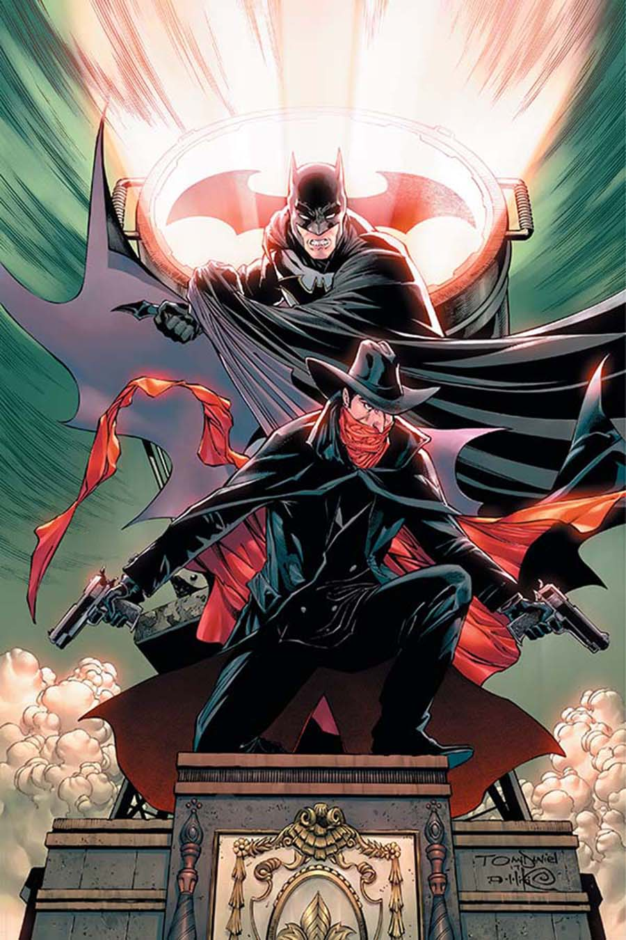 Shadow Batman #2 Cover G Incentive Tony S Daniel Virgin Cover